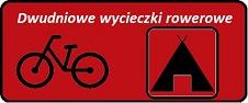 Tablica do linków czerwona dwudniowe wycieczki rowerowe